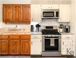 kitchen cabinet painting before and after sherwin williams alabaster white kitchen cabinets with white subway