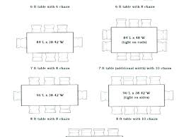 round table size for 8 table size for chairs 6 dining table dimensions contemporary ideas 8