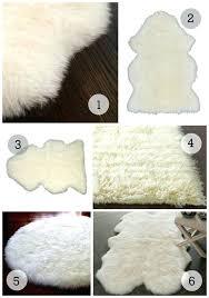 fur rug ikea lovable sheepskin runner rug rugs small rugs