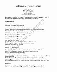 Freshersworld Resume Format Unique Qa Manual Tester Sample Resume