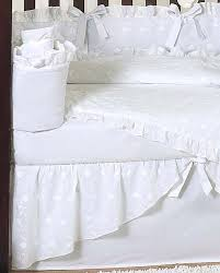 white baby bedding set eyelet by jojo only 189 99