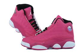 jordan shoes for girls 2014 black and white. girls air jordan 13 retro fusion pink black white for sale-3 shoes 2014 and r