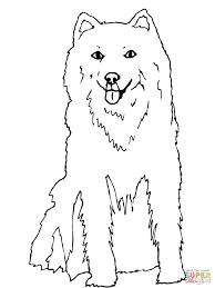 Small Picture Alaskan Husky coloring page Free Printable Coloring Pages