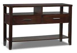 gloria sofa table  espresso  leon's