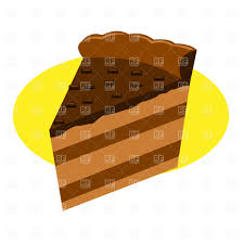 piece of chocolate cake clipart. Fine Chocolate Piece Of Chocolate Cake Vector Image U2013 Artwork Food And Beverages   Prague  Click To Zoom Intended Of Chocolate Cake Clipart S