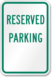 reserved sign templates vibrant reserved parking template free signs professional no sign