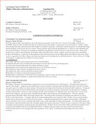 adorable higher ed resume examples for 7 curricum vitae for education bud  template letter - Higher
