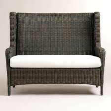 wicker outdoor sofa 0d patio chairs replacement cushions ideas outdoor furniture seat cushions