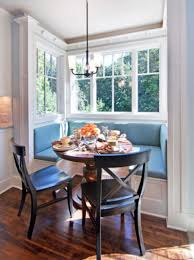 and white color bench with blue color seats home furniture captivating design of breakfast nook tables mesmerizing breakfast nook table design with