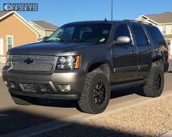 2007 Chevrolet Tahoe Fuel Maverick D538 Rough Country Suspension ...