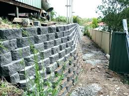 simple wall building a cinder block retaining wall costs cost concrete in retaining wall cost i