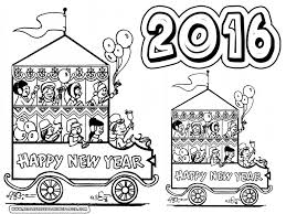 Printable Coloring Page New Year U0027s Coloring Pages Happy New