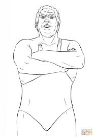 Andre The Giant Coloring Sheets Celebs Coloring Sheets Sketches