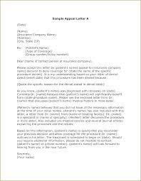 Medical Appeal Letters Appeal Decision Letter Template Billing