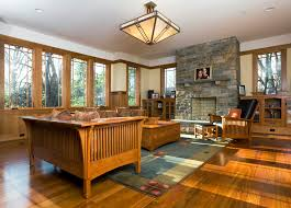mission style fireplace family room craftsman with area rug built spanish mission style rugs