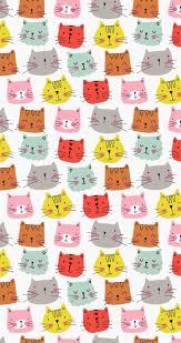 cute cat pattern wallpaper. Interesting Cat Cat Pattern Wallpaper For Cute Pattern Wallpaper I