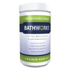 bathworks 8 in x 8 in x 12 in black diy bathtub and