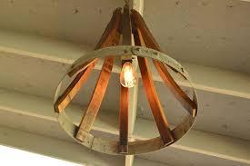 back to wine barrel chandelier light designs