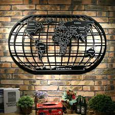 metal world map world map black metal wrought iron rack art wall decor wall sculpture metal