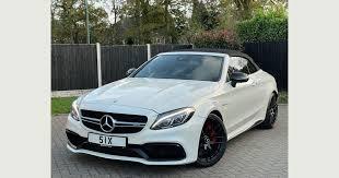 Used <b>Mercedes</b>-<b>benz</b> C Class Convertible 4.0 C63 <b>V8 Biturbo</b> Amg ...
