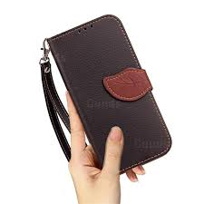 leaf buckle litchi leather wallet phone case for htc 10 evo htc bolt black leather case guuds