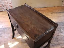 industrial wood furniture. Vintage Industrial Wood And Cast Iron Printers Proof Table Stand \ Furniture R