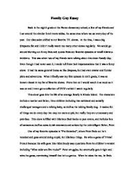 an essay about family co an essay about family