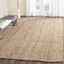 decoration sisal rug cream synthetic wool round x with black border jute runner outdoor cu