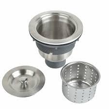 Kone 3 12 Inch Kitchen Sink Strainer With Removable Deep Waste