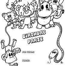 Small Picture BIRTHDAY CARDS coloring pages Coloring pages Printable