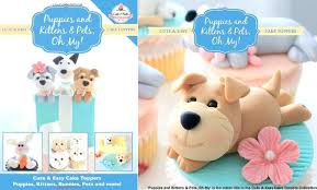 Puppy Cake Topper Cute And Easy Toppers Puppies Kittens Pets On My