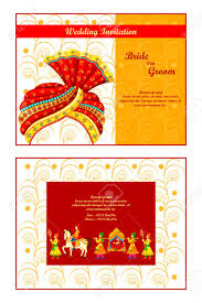 vector illustration of indian wedding invitation card royalty free Indian Wedding Card Free Vector vector illustration of indian wedding invitation card stock vector 35121845 indian wedding card design vector free download