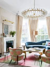 art deco living room. Art Deco Living Room With Pink Palette In London Via @thouswellblog Y