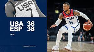 "USA Basketball on Twitter: ""At the half ..."