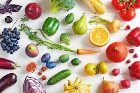 Rainbow Fruits And Vegetables Chart How To Eat More Fruit And Vegetables American Heart