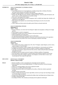 Lead Ux Designer Resume Samples Velvet Jobs
