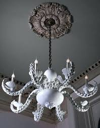 coastal beach house octopus chandelier by currey and company