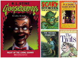 kids horror books