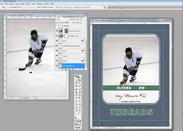 free trading card template inserting your picture into a custom trading card template youtube