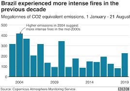 Amazon Fires Forest Loss Challenges Paris Climate Ambition