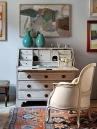 vintage style shabby chic office design. Harmonious Office Vintage Style Shabby Chic Design