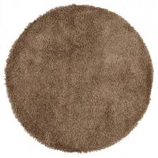 contemporary rugs and design model large round mike Ø 200 cm brown round rugs