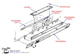 keen corvette parts diagrams door sills amp floor plates diagram for a c2 corvette