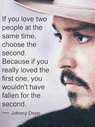 Johnny Depp Love Quotes Awesome Johnny Depp On Love Quotes Pinterest Johnny Depp Paths And