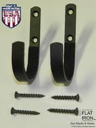 wall mount rack hooks