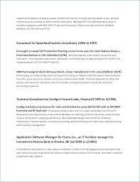 Sample Management Resume Best Of Sample Management Resume Lovely Technical Manager Resume Tonyworldnet