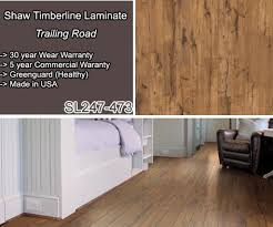 Amazing SL247 473 Shaw Timberline Laminate : Color Trailing Road Hickory...Made In  USA...12mm Thick, Click Together Floating Floor, 30 Year Wear Warranty. Amazing Design