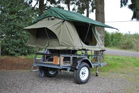 utility trailer compact camping concepts