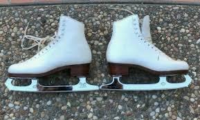 Gam Figure Skates Size Chart 1200 Sp Teri Ice Figure Skates John Wilson Blade White Leather Women Size 7 5