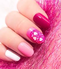 Pink Nail Art Design 30 Cute Pink Nail Art Design Tutorials With Pictures